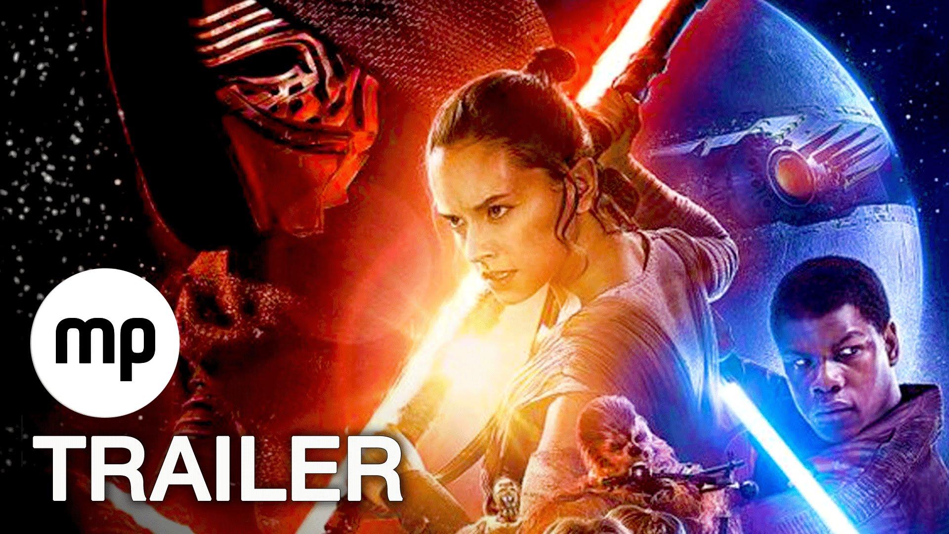 STAR WARS EPISODE 7 - DAS ERWACHEN DER MACHT TRAILER 3 NEU Deutsch German HD
