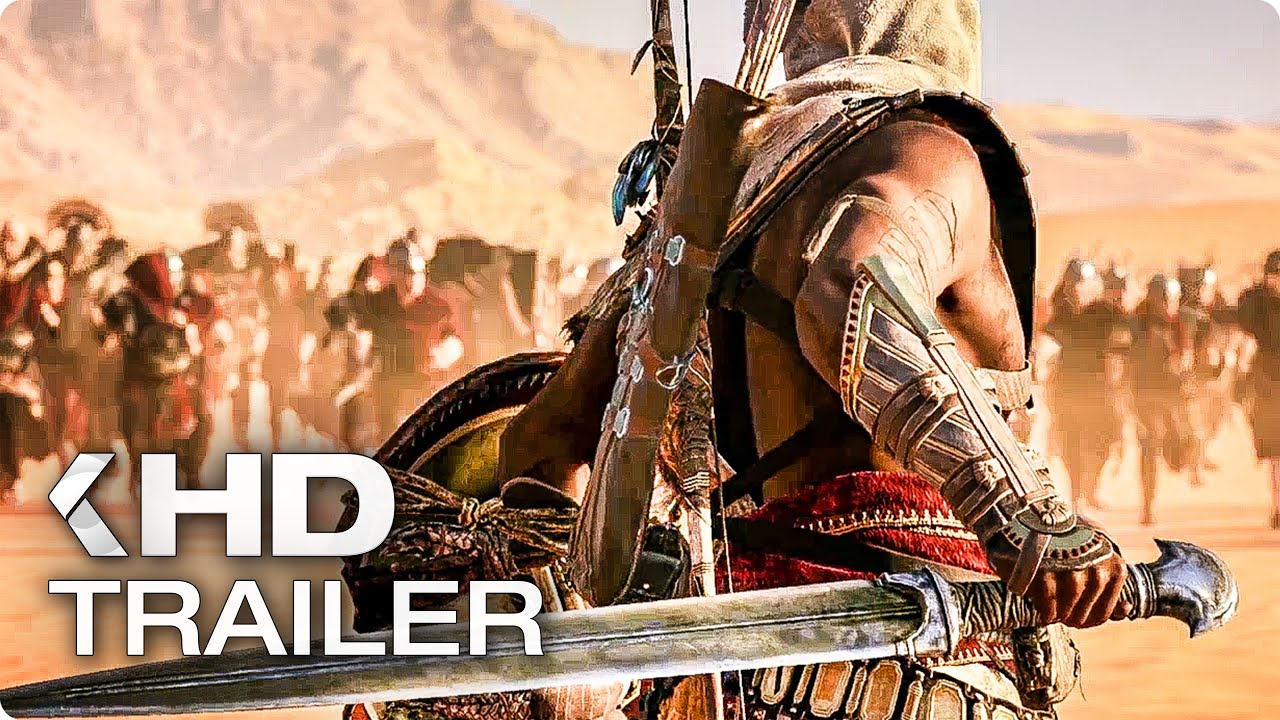 ASSASSIN'S CREED ORIGINS Story Trailer German Deutsch (2017)