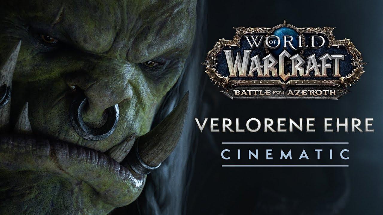 Cinematic: Verlorene Ehre   World of Warcraft