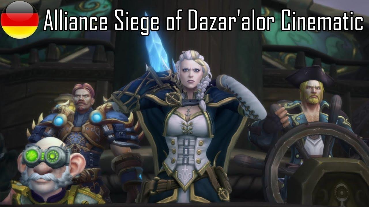 Alliance Siege of Dazar'alor Cinematic (Deutsch)